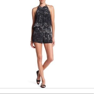 NEW • Mikoh • Takaroa Silk Leopard Romper Medium
